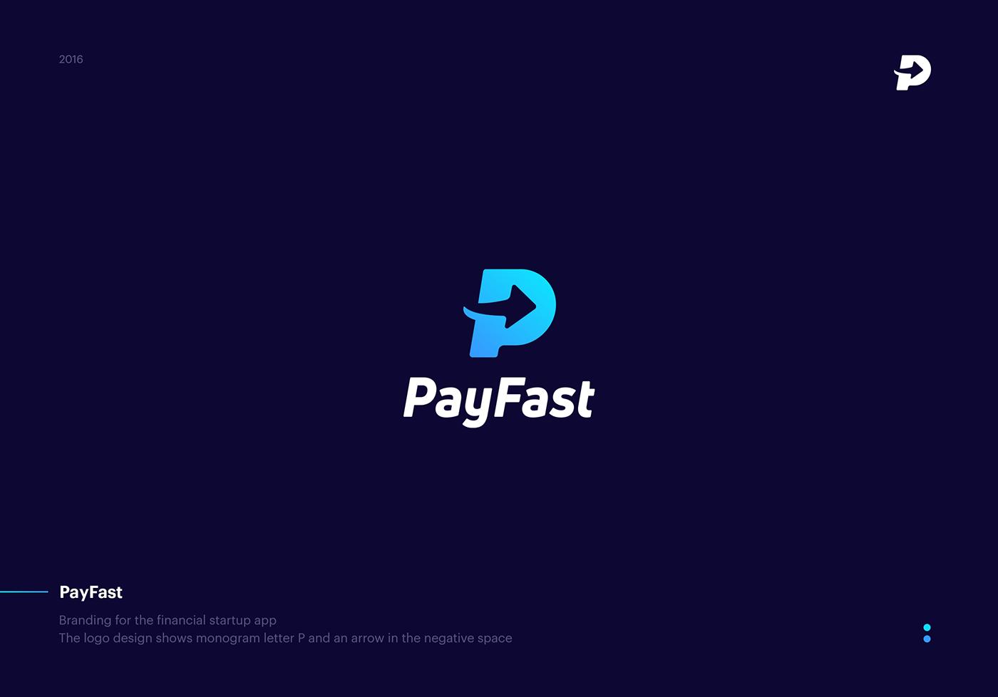 Fin-tech logo design