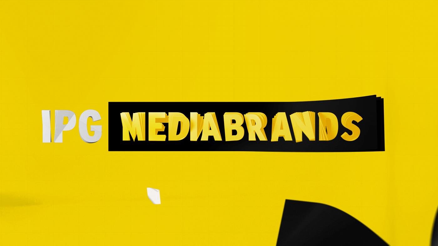 IPG mediabrands design Dynamic motion geometric Film   product productdesign