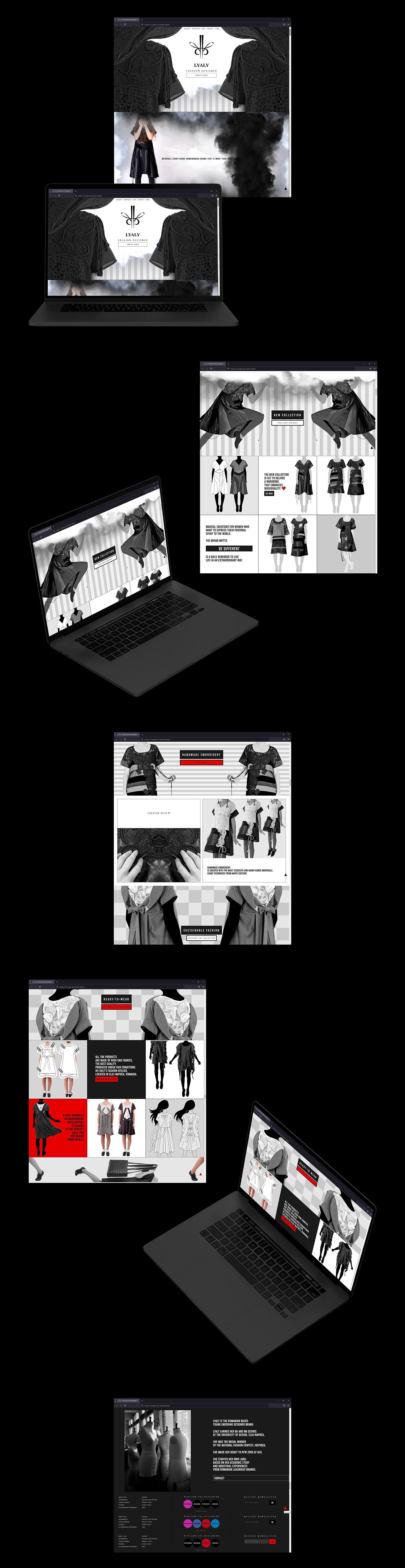 banner design css front-end graphic design  HTML interactive design ui design UX design Web Design  web development
