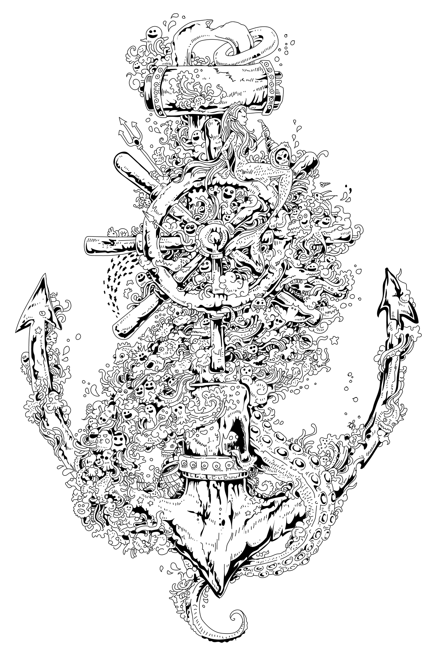 Anchor by Kerby Rosanes on Behance
