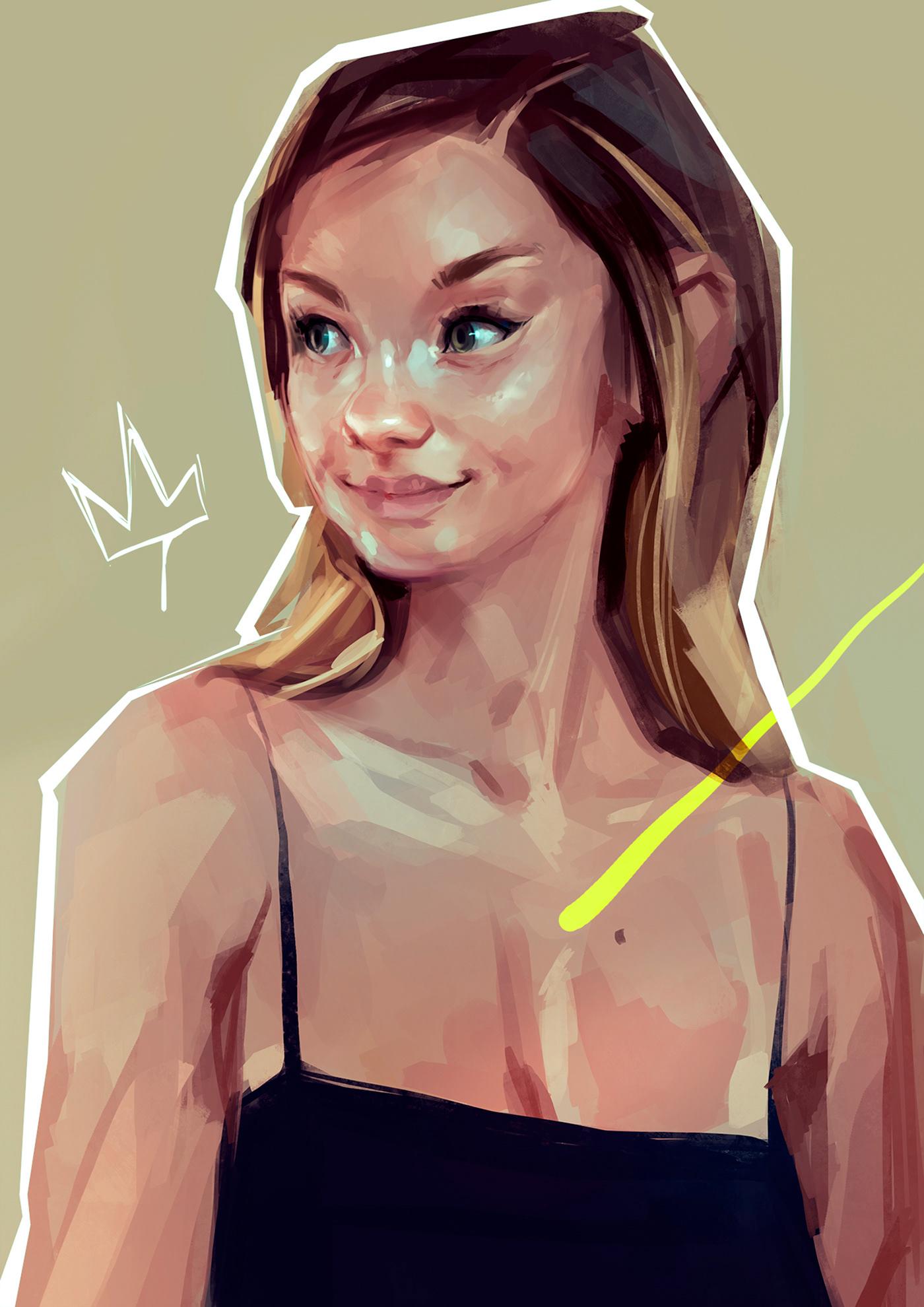 Image may contain: sketch, cartoon and human face
