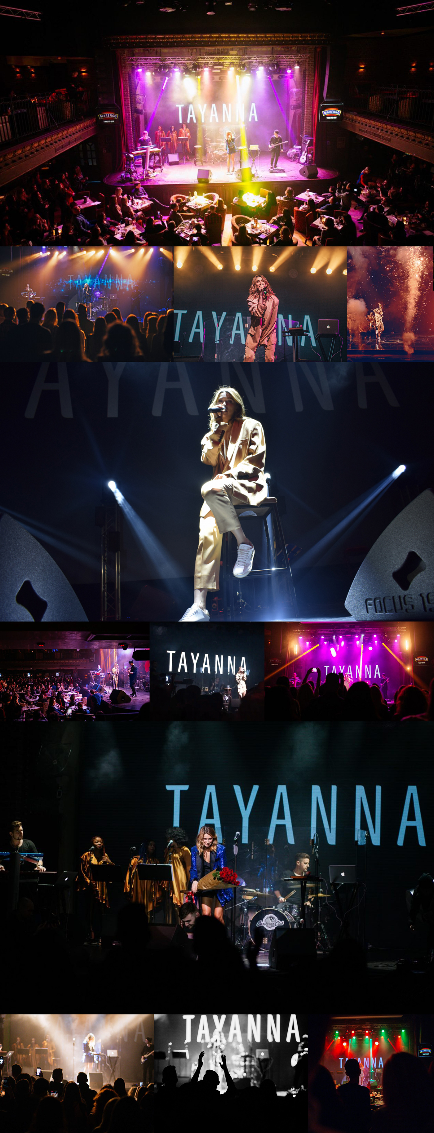 music Tayanna Singer ukraine украина Україна logo Logotype flower orchid