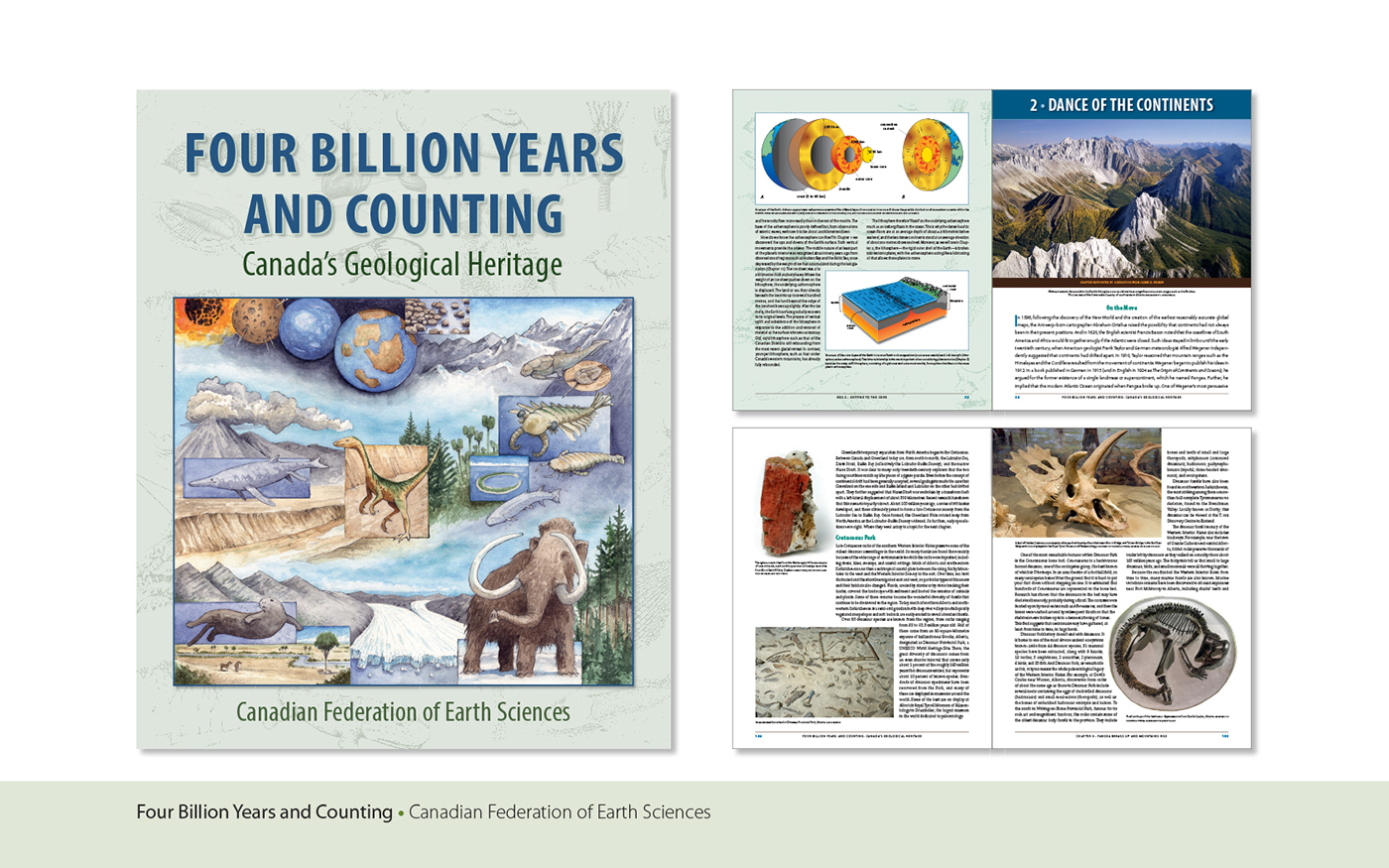 four billion years and counting canadas geological heritage