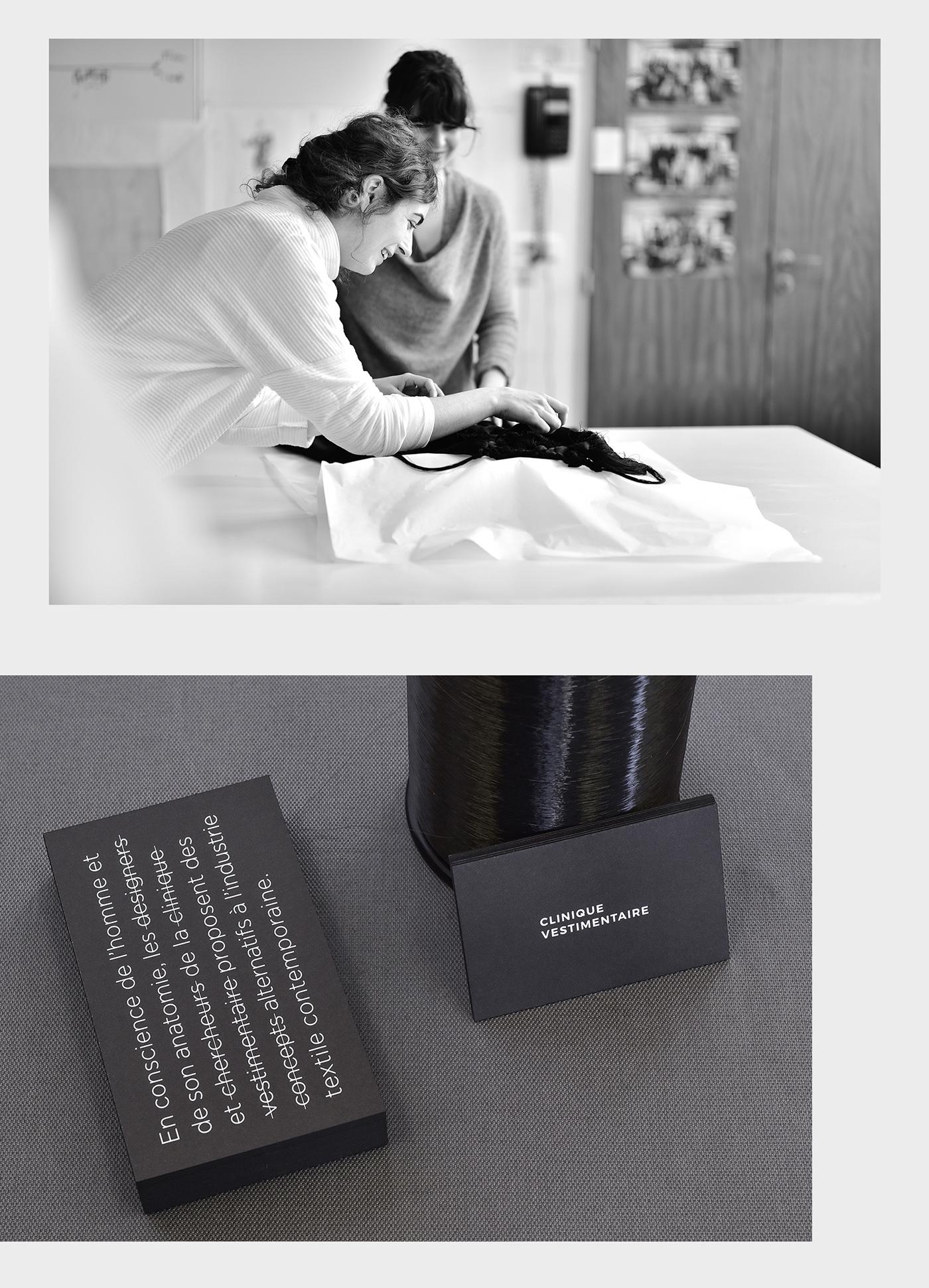 Clinique Vestimentaire | Branding on Behance