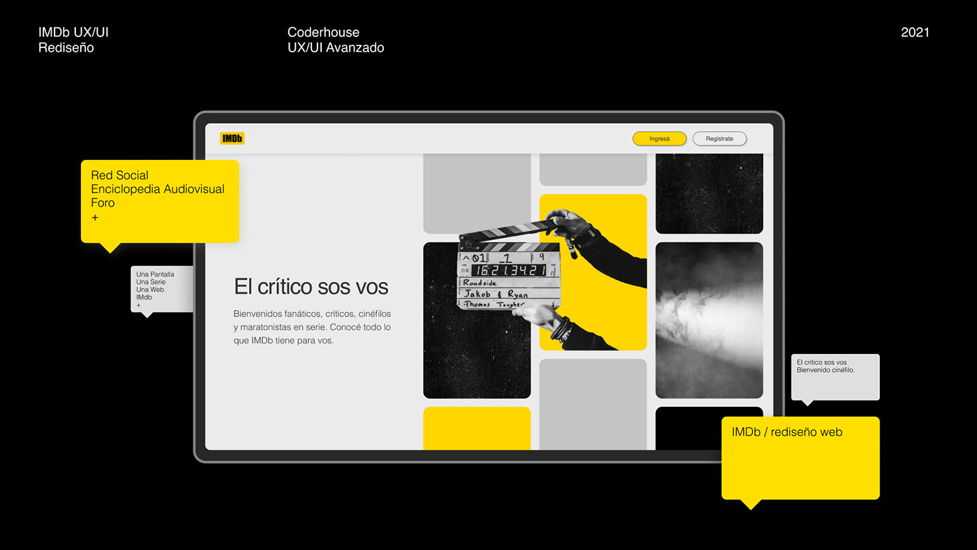coderhouse,Film  ,imdb,movie,redesign,UI,ux,uxui,Web