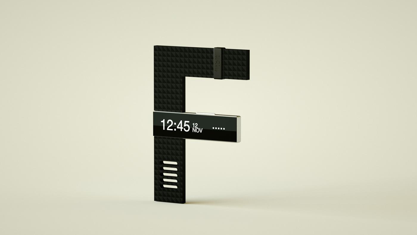 36days cinema 4d octane type letter lettering CGI 3D types