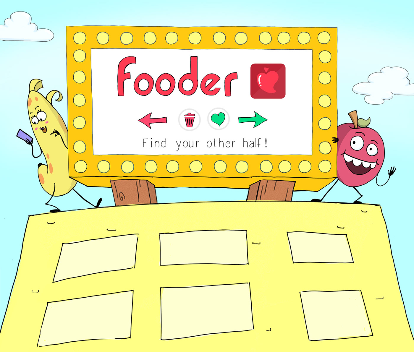 FOODER,2D Animation,animation ,Food ,Sustainability,Ecology,beauty,fruits,vegetables,Sustainable Food