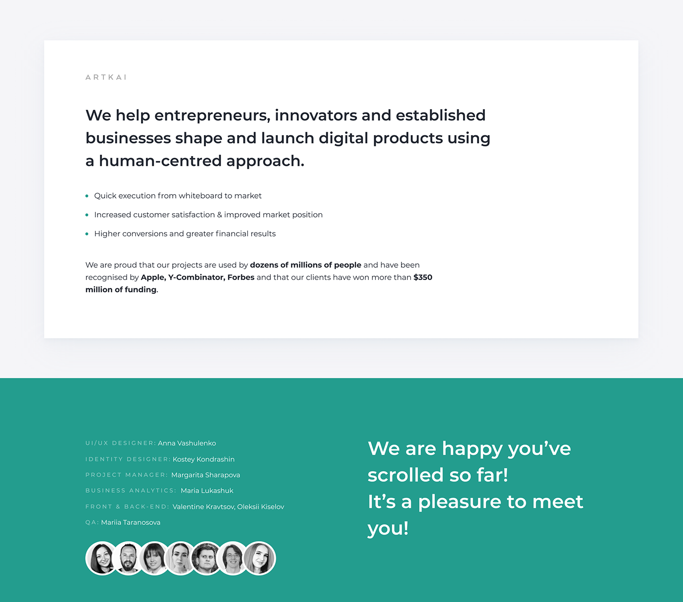artkai branding  charity app Lean Mobile app Mobile UX Startup Startup UX UI visual design
