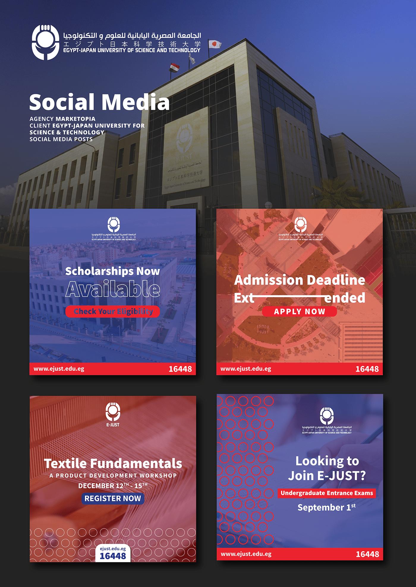 blue posts circle identity egypt Facebook Posts japan red posts social media University