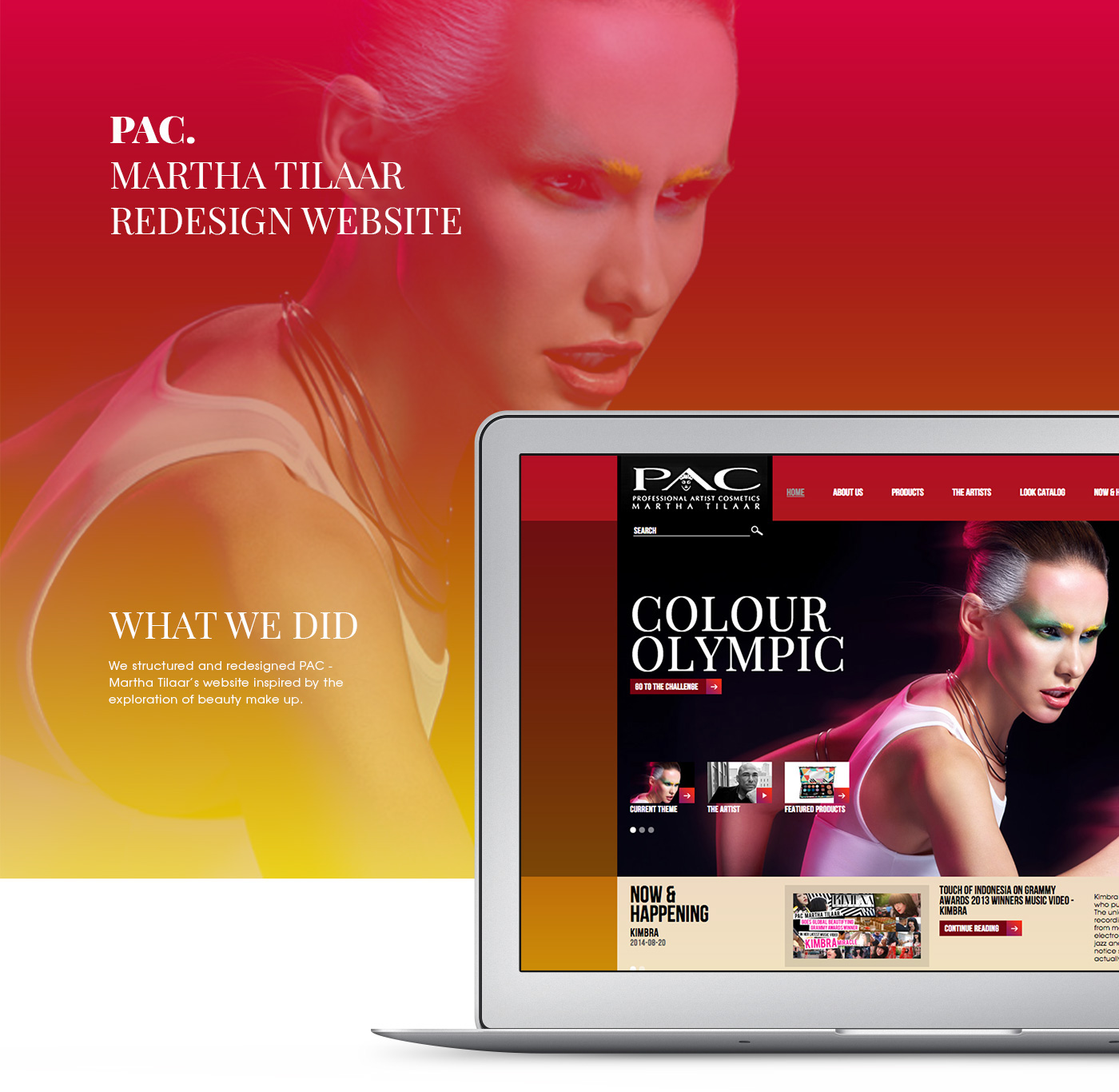 pac Martha Tilaar beauty Make Up Rise Indonesia UI ux