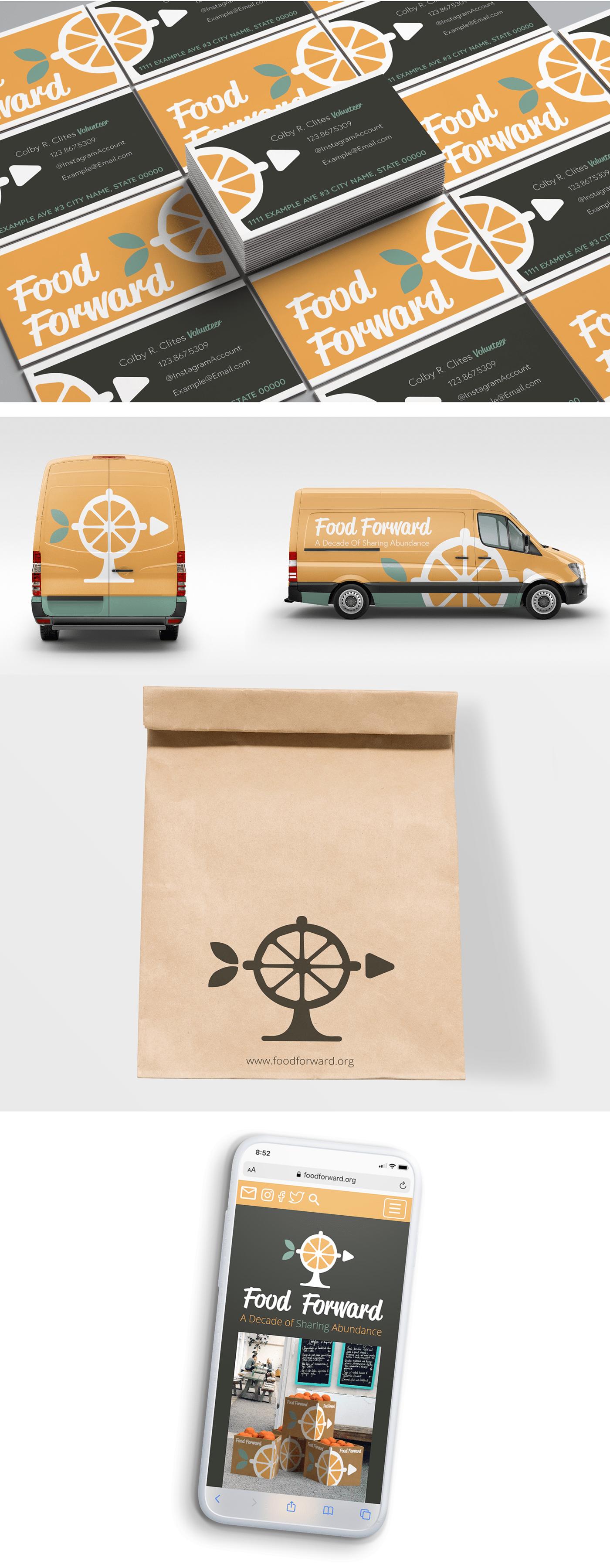 Clites Identity System branding  nonprofit logo design orlando Adobe Portfolio Food  Rebrand tampa