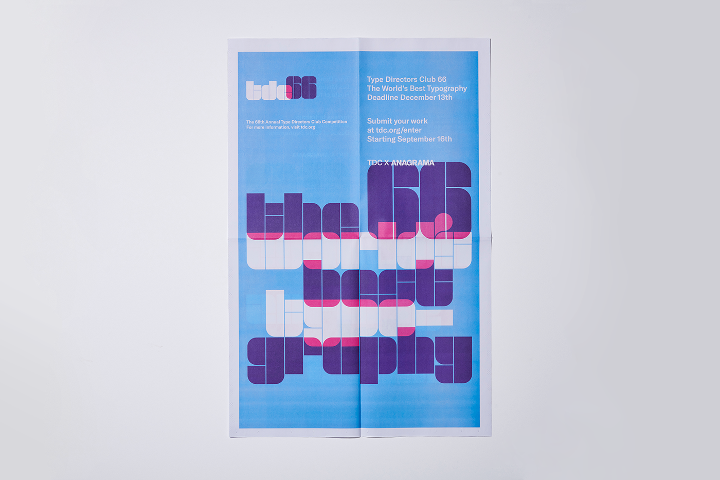 Branding / Typography / Graphic Design / Competition / newspaper