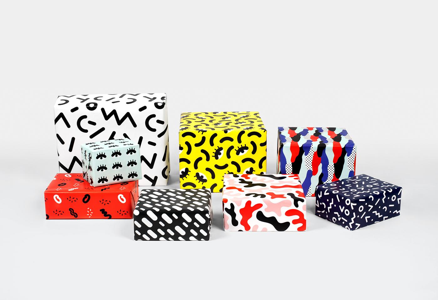 有美感的24張聖誕禮物包裝欣賞
