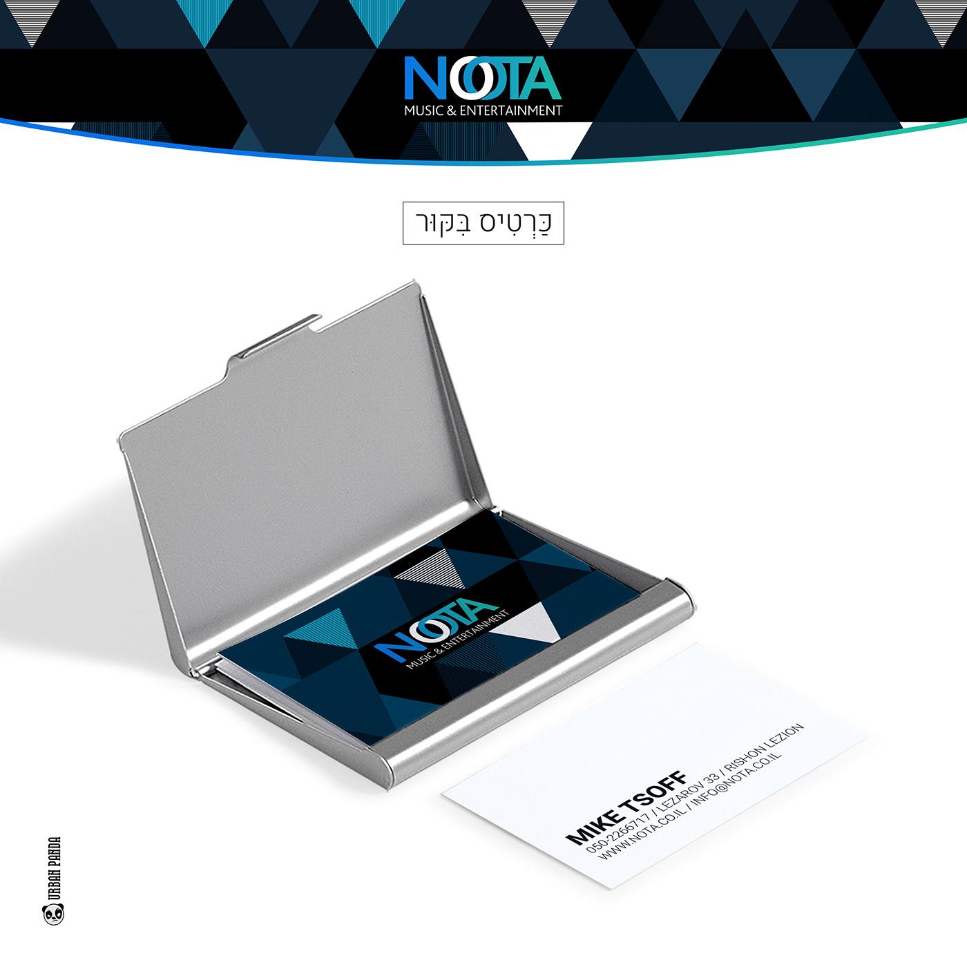 brand branding company Dj's logo Nota wedding