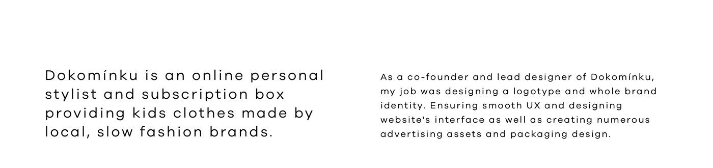 brand identity branding  dokominku logo Packaging product design  typography   ui design UX design Web Design