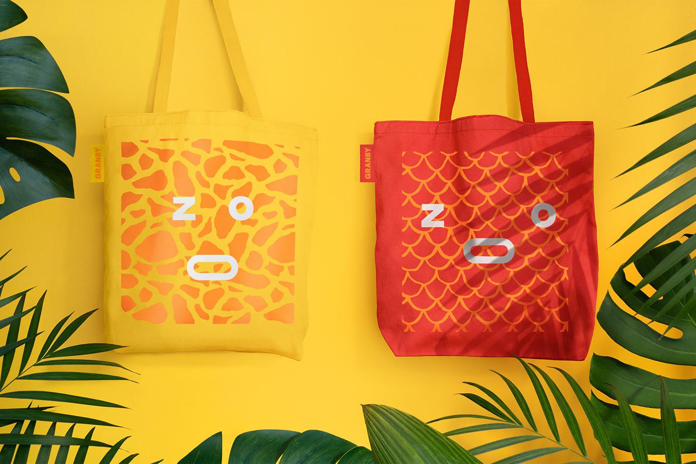 zoo animal animals color colorful Typographic Logo logo motion graphics  branding  identity