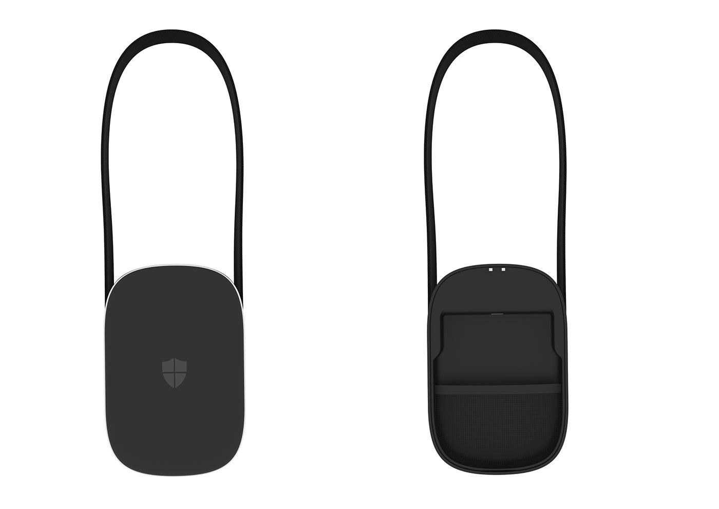 Safy Kickstarter lock safe bag Anti theft rfid power bank alarm