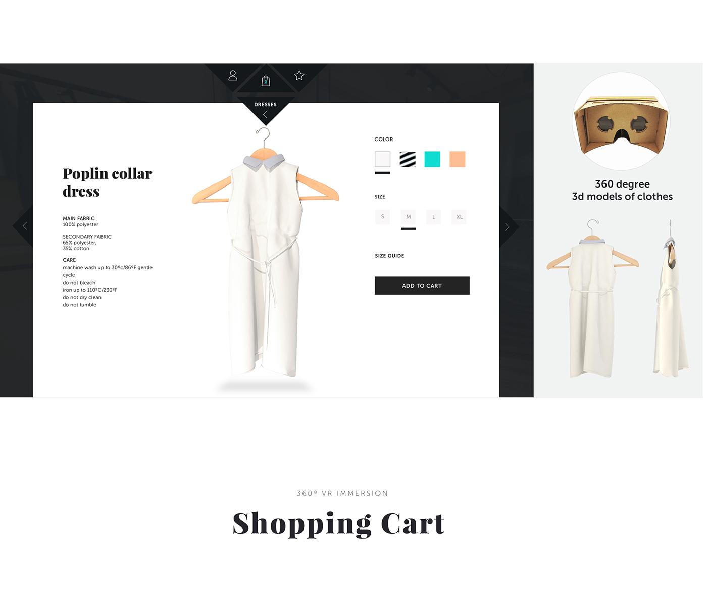 vr,Virtual reality,cardboard,Fashion ,v-commerce,e-commerce