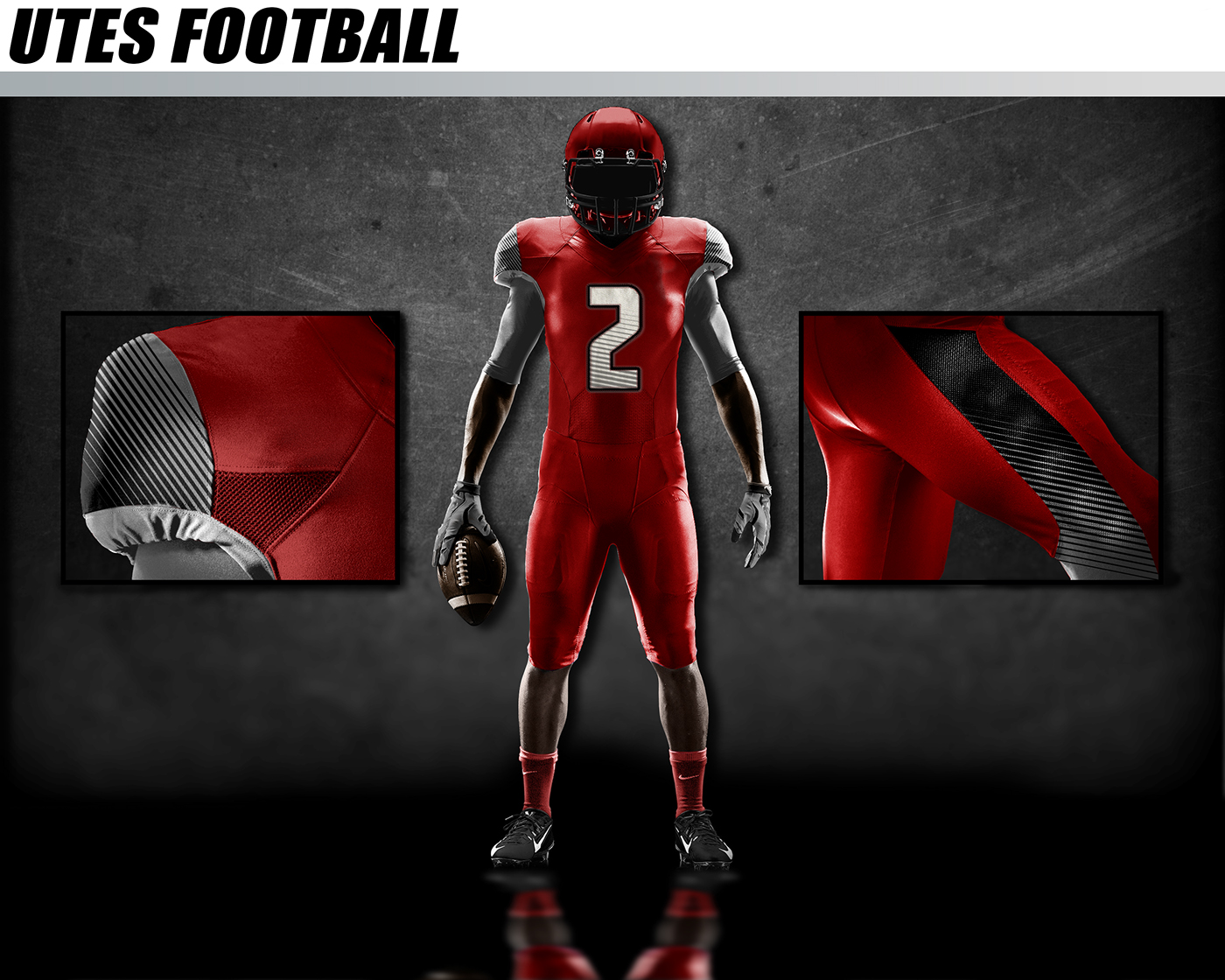 Realistic Football Uniform Psd Mockup On Behance