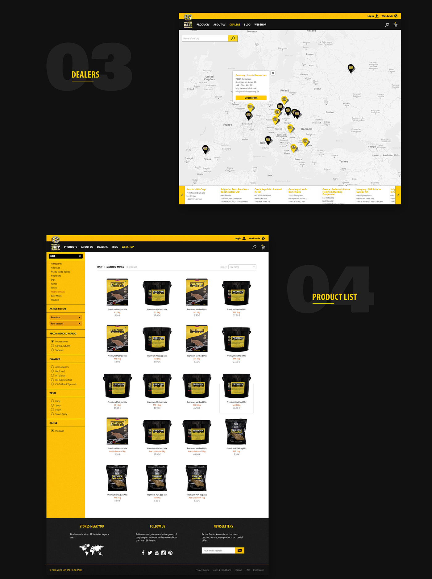 UI ux Ecommerce Website shop