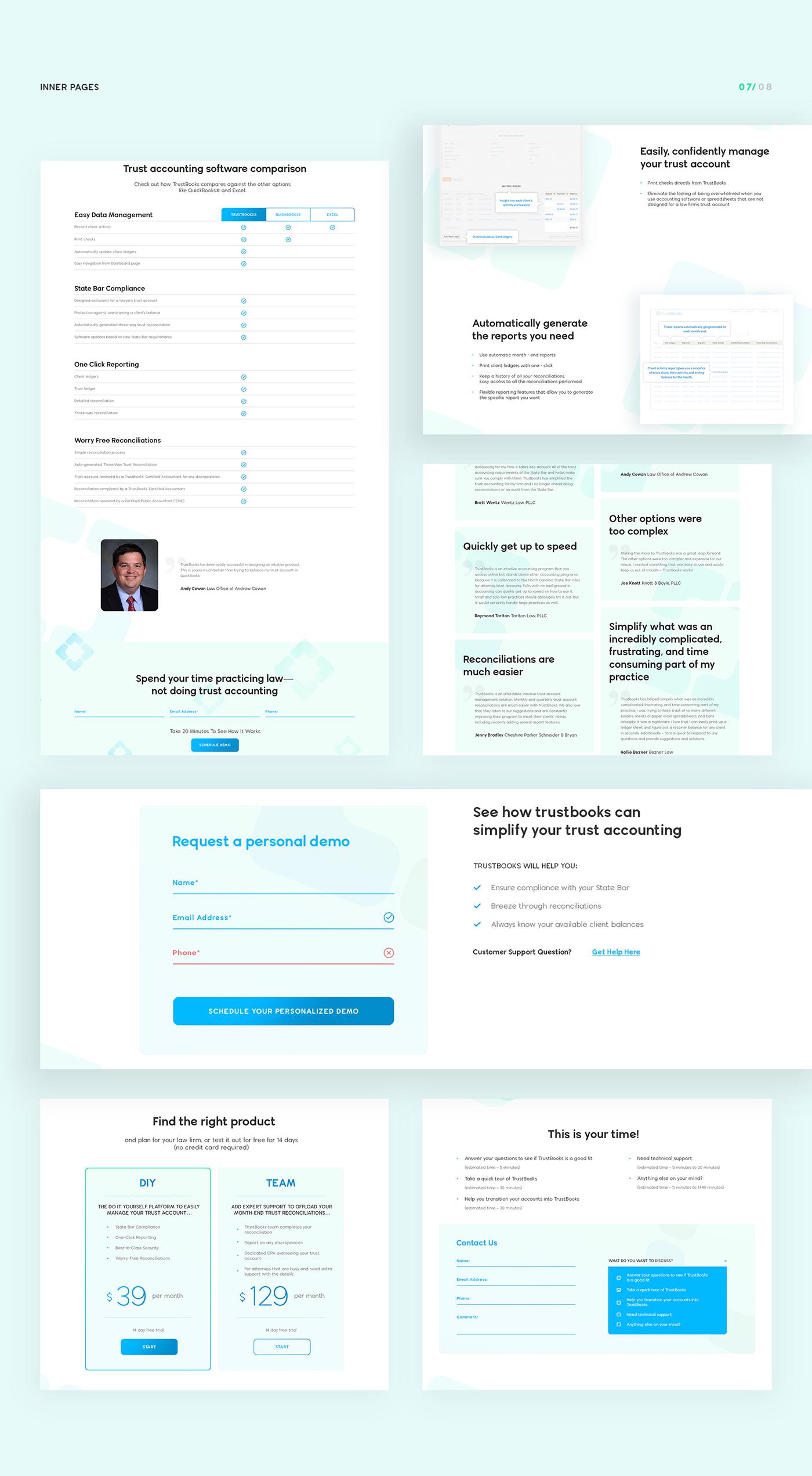 UI ux Web clean gradient soft ILLUSTRATION  Source redesign blue