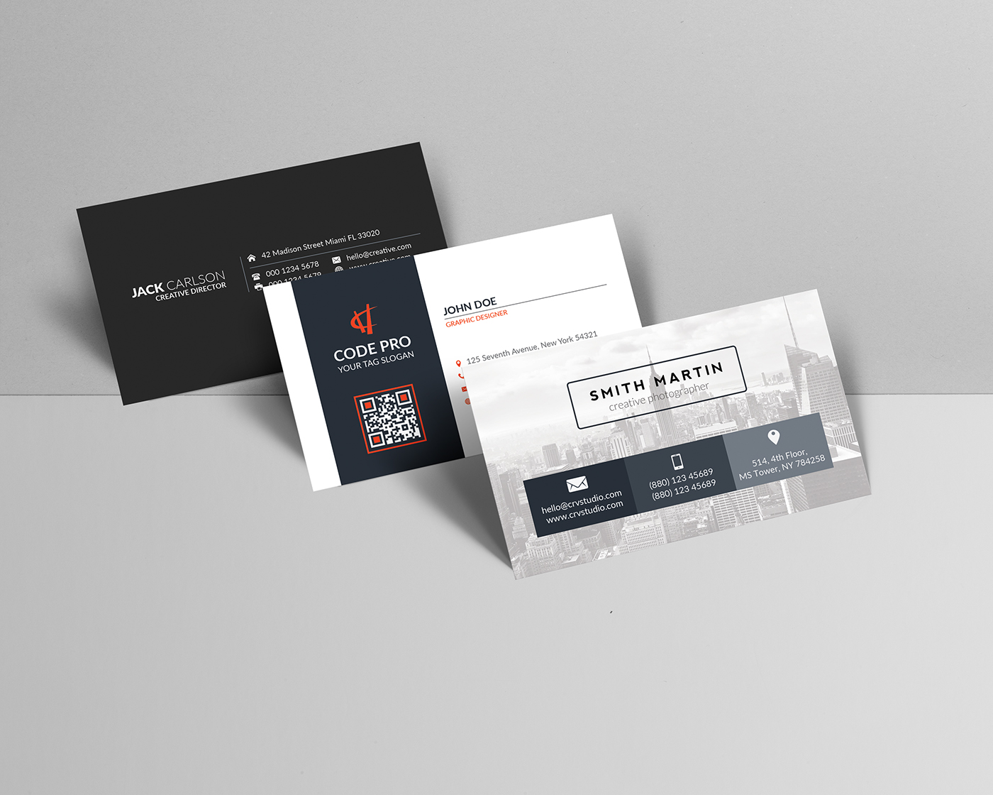 Free Business Card Mockup on Behance