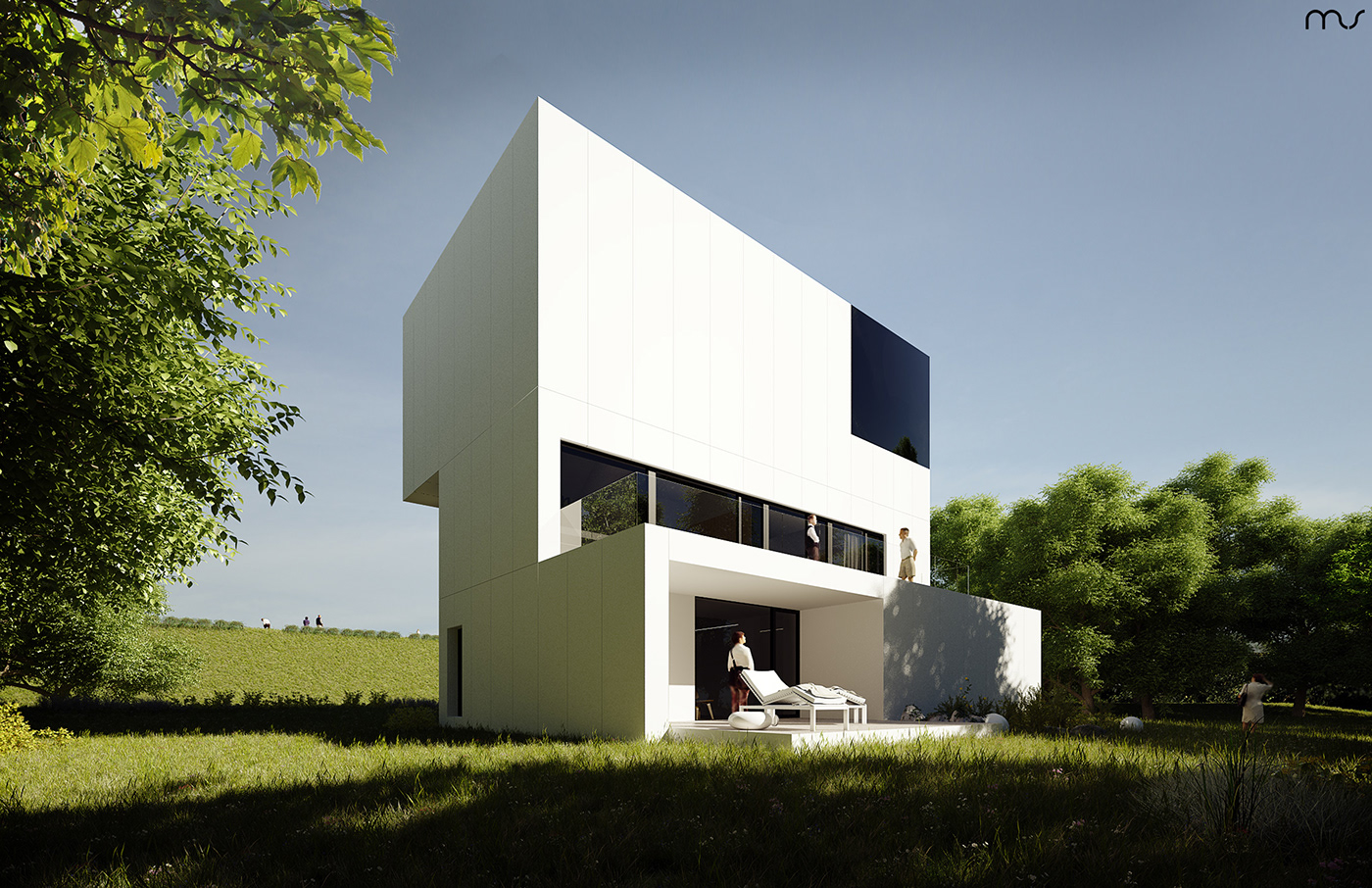 architecture building conceptual house housing interiordesign Minimalism musarchitects polisharchitects residential