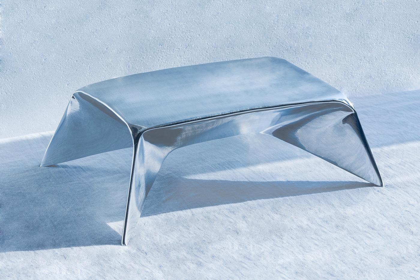 origamy origami  furniture metal furniture sheet metal Metalworking unique furniture innovative furniture minimalist Minimalism origami furniture
