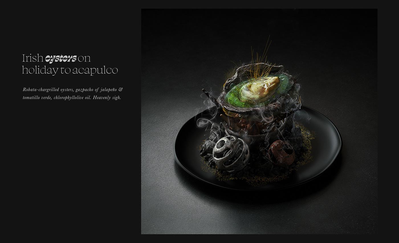 3D artwork c4d CGI colorful cuisine Food  organic texture visual