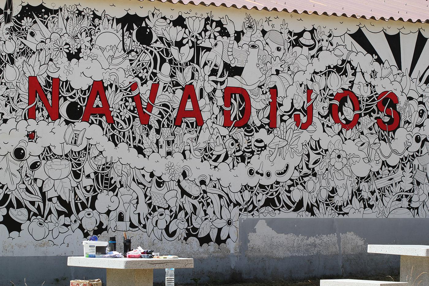 Image may contain: drawing, graffiti and art