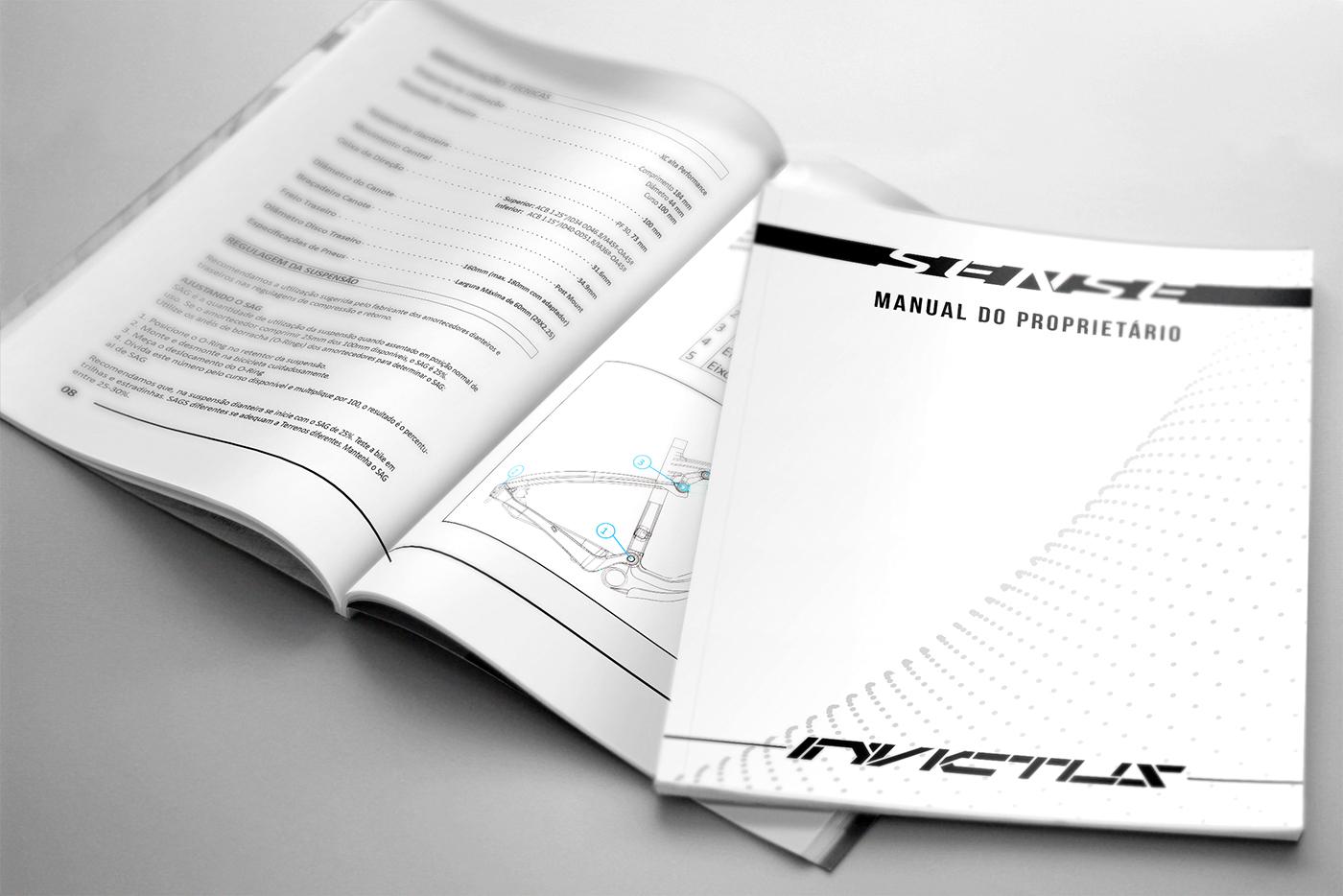 manual Bike Bicycle editorial Gabriel Delfino Delfino Design graphic design