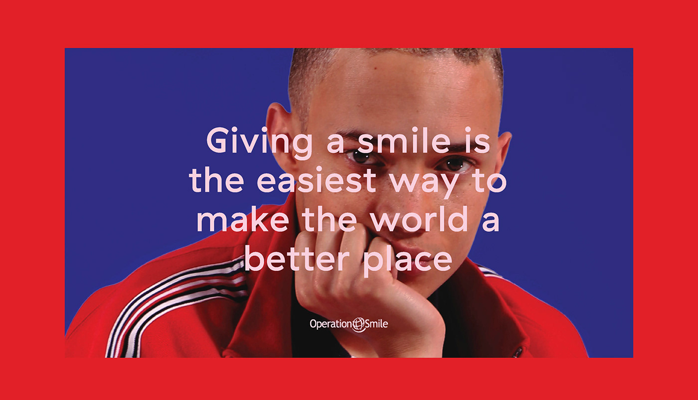 operation smile,goodwill,gum,Fashion ,educational material,smile more,do good,content,adobeawards