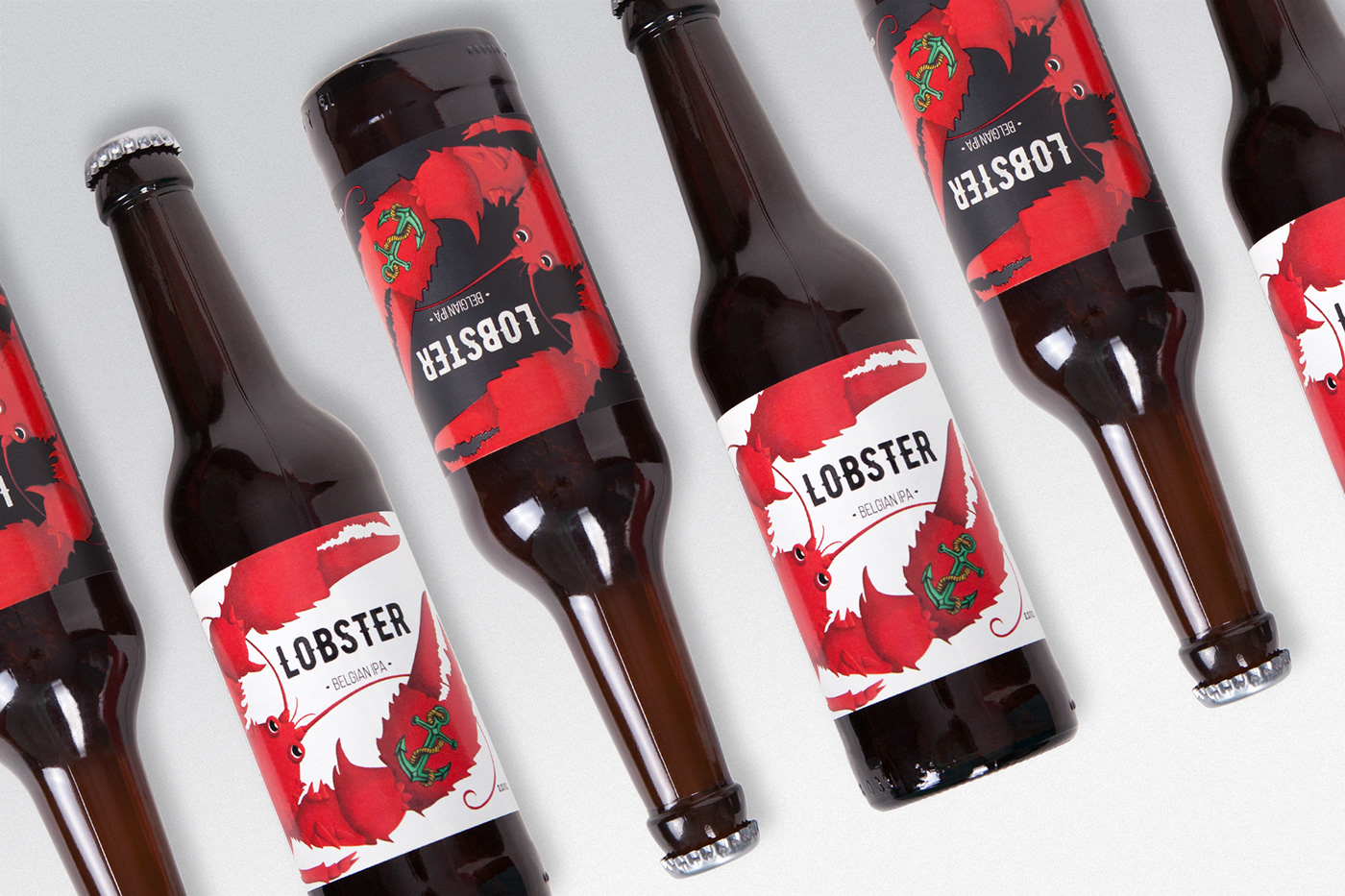 Label Packaging beer graphic design  restaurant craft beer beverage Pack box drink