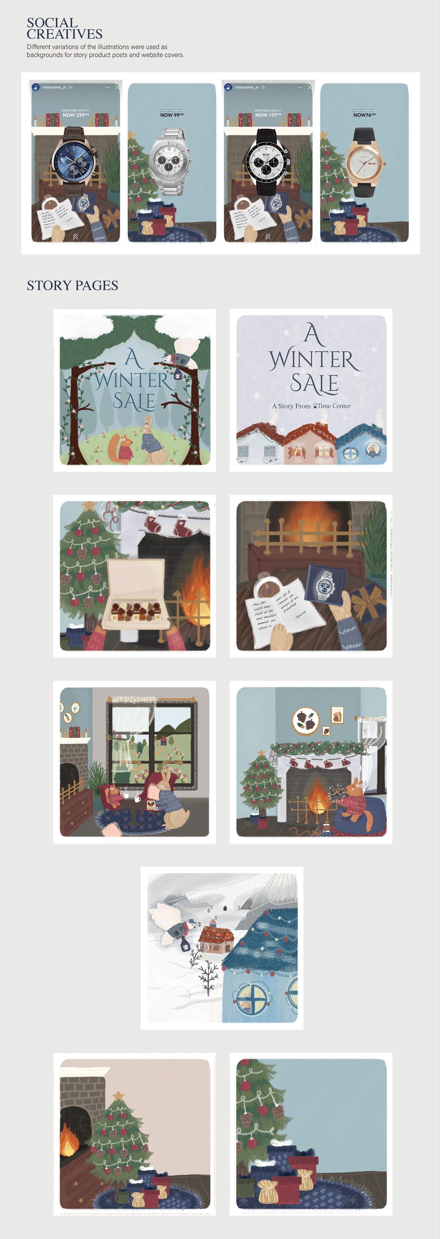 amman art children's book graphic design  ILLUSTRATION  jordan sketchbook storybook holidays winter