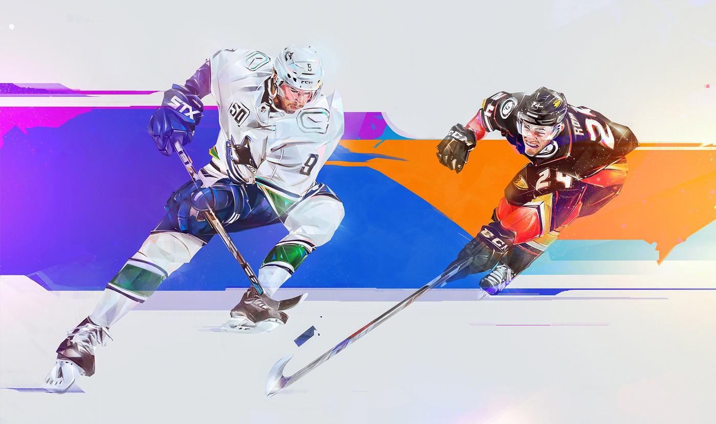 Image may contain: hockey, ice skating and skiing