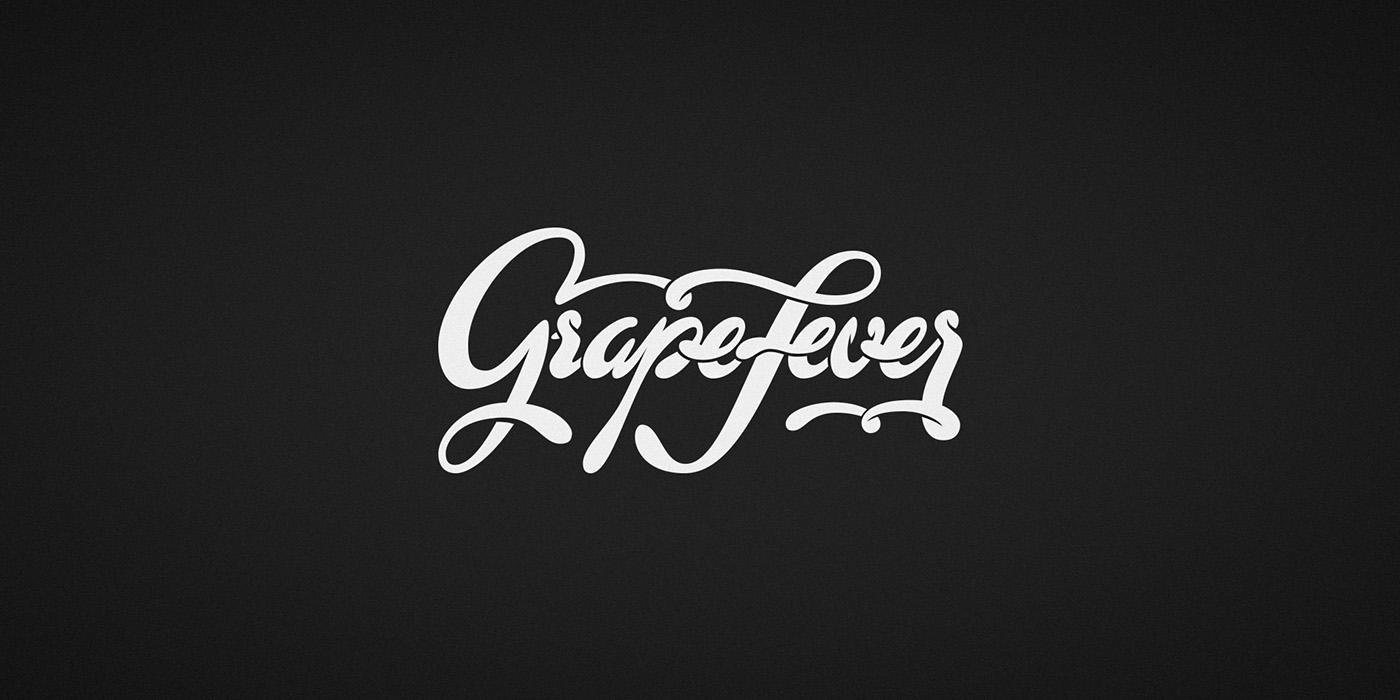 wine grape Grape Fever Grapefever cork Freelance logo Logotype Logotipo logofolio logos brand Logo Design