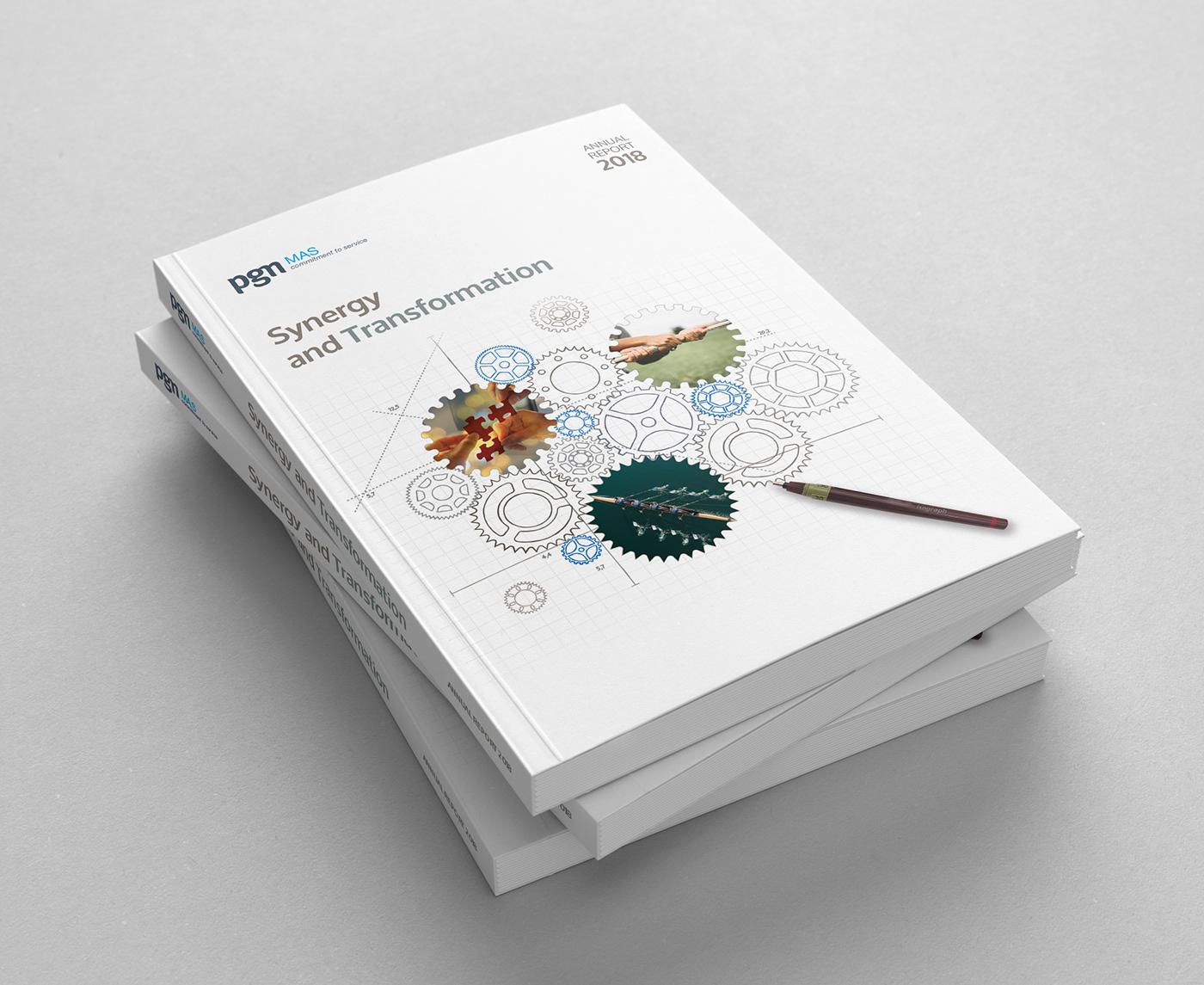 annual report laporan tahunan graphicdesign corporatecommunication