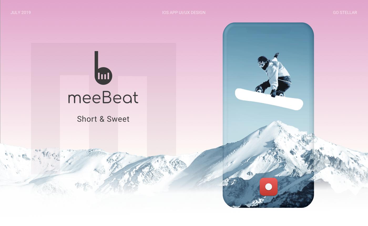 UI ux mobile animation  ios branding  logo video social