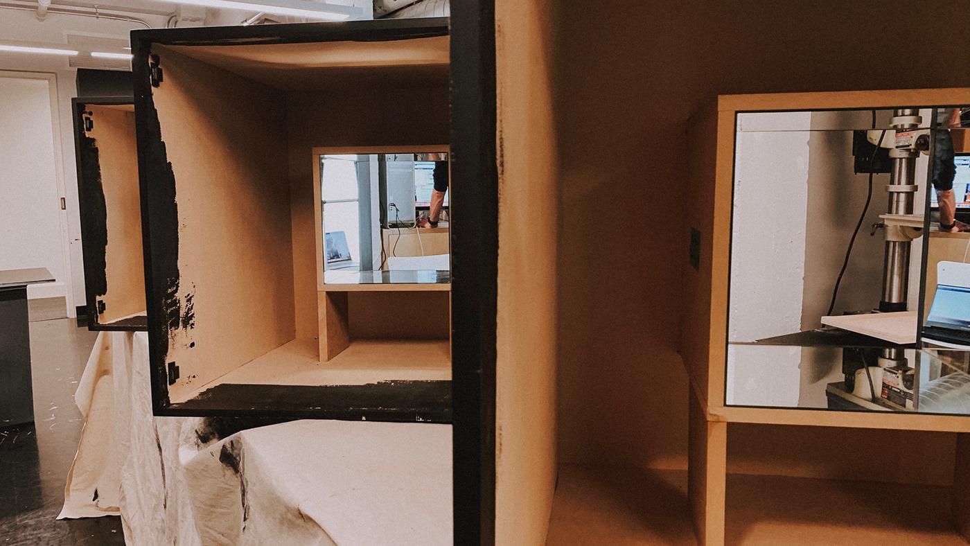 installation Exhibition  Gardiner museum motion graphics  kaleidoscope infinity mirrors aldo Fashion  Yayoi Kusama