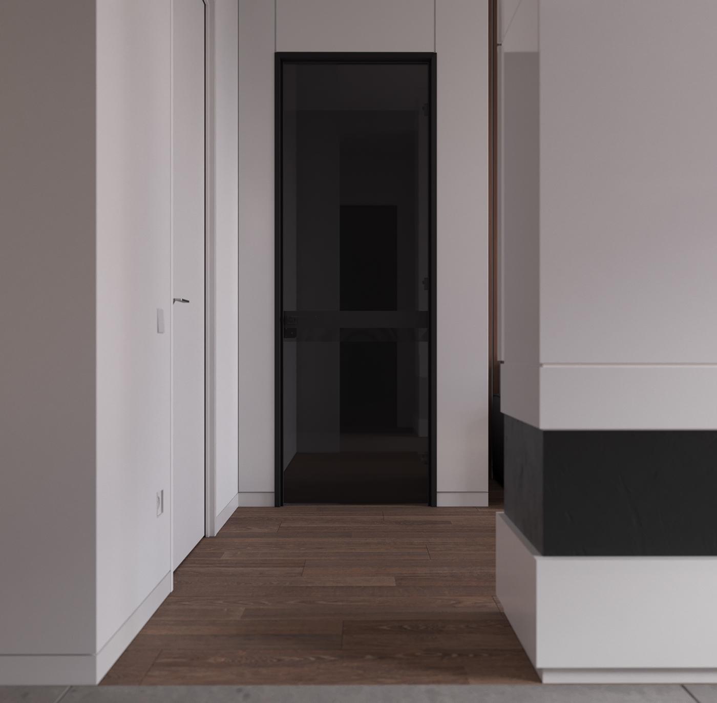 Interior minimalist minimalist design contemporary interior saym architects visualization Architecture Visualization corona renderer