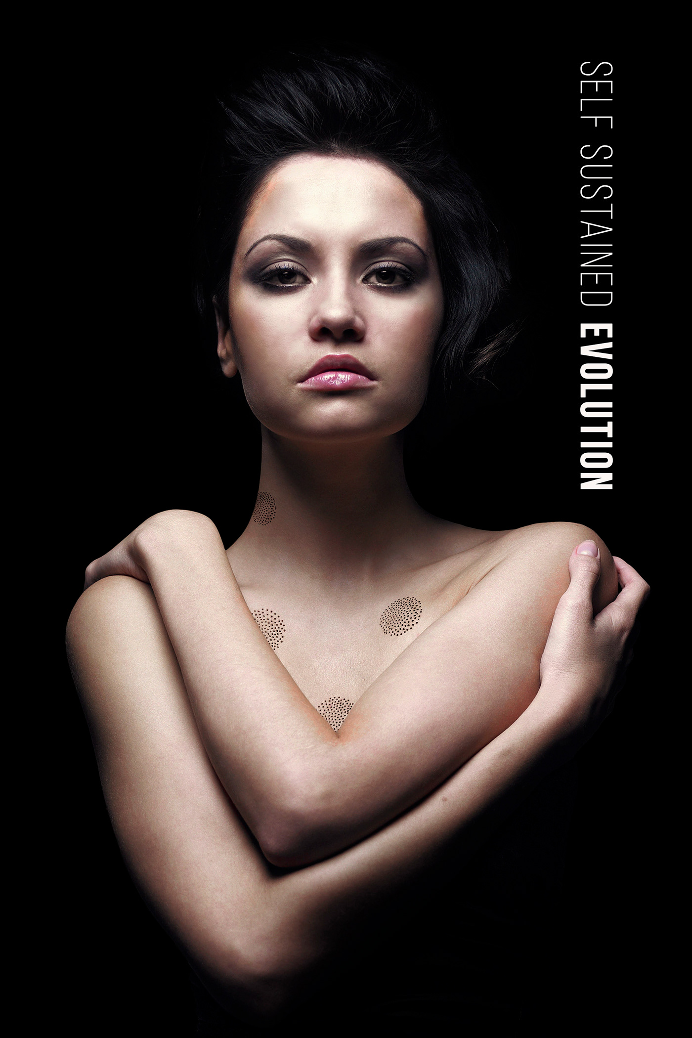 breathe COVID-19 Digital Art  ecosystem evolution female body lungs oxgen mask pollution self sustained