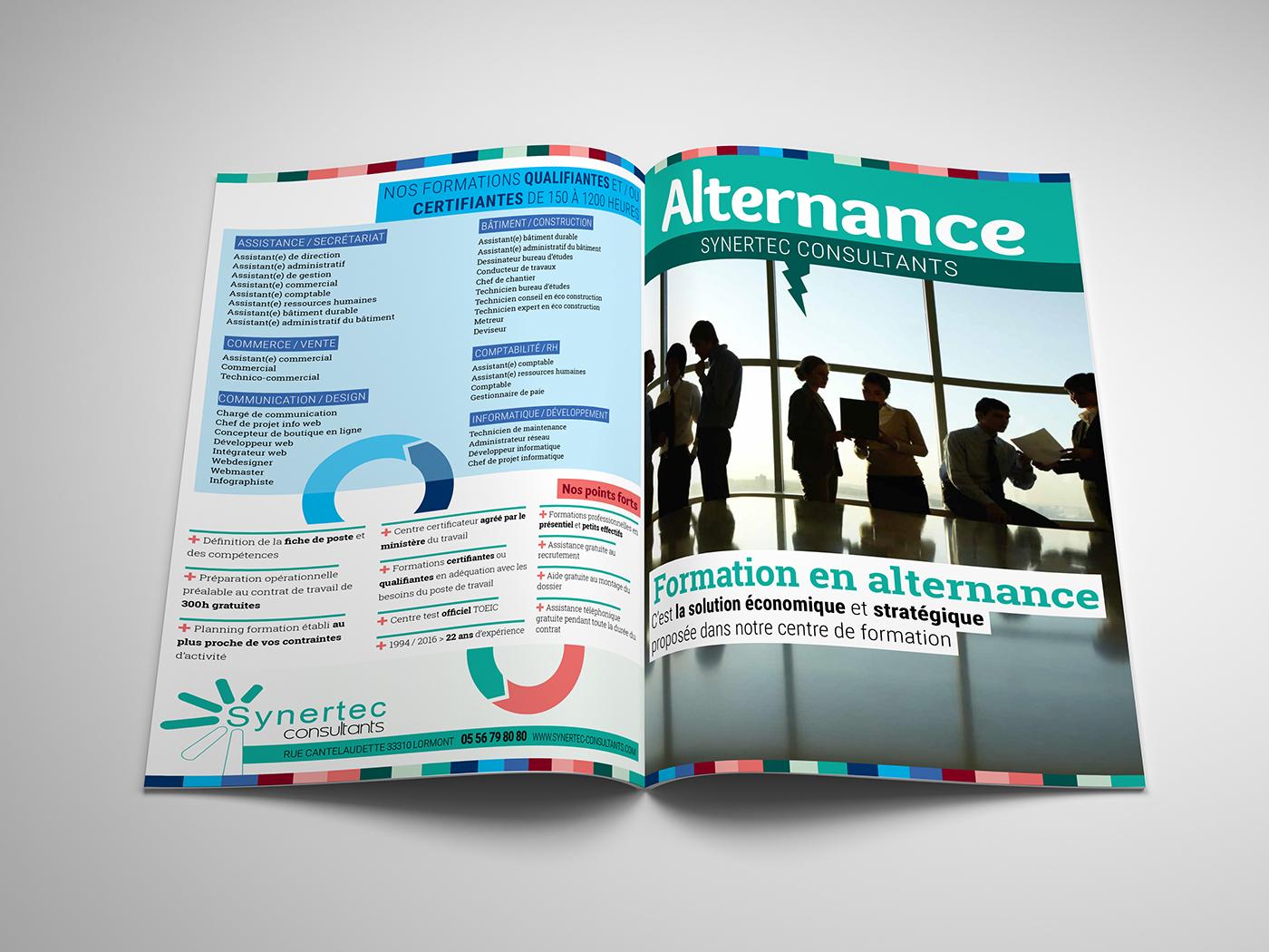 brochure InDesign Illustrator print