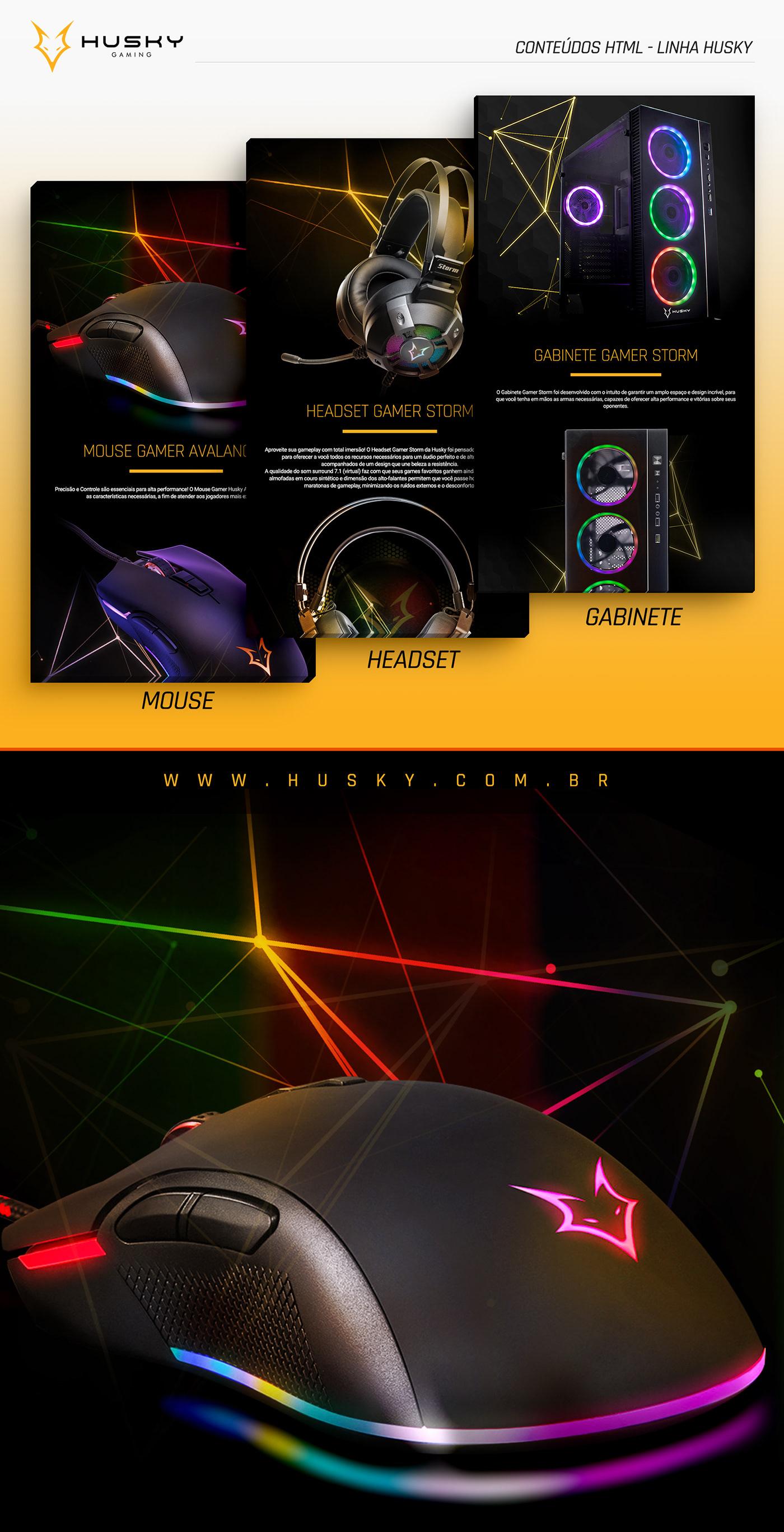 criação design Layout Web Produtos adobe photoshop