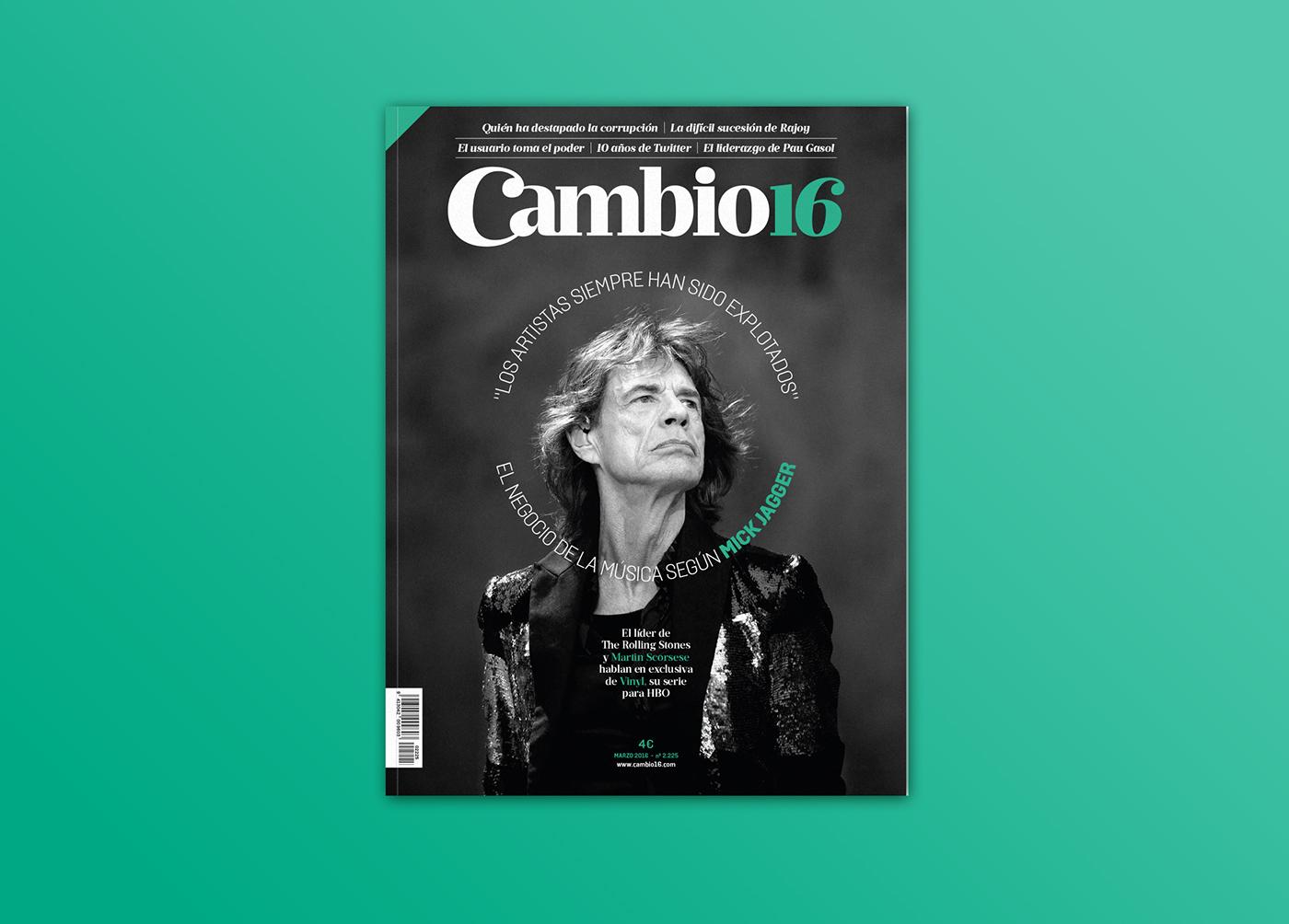 Cambio16,españa,Politica,Mick Jagger,vinyl,scorsese,hbo,Periodismo