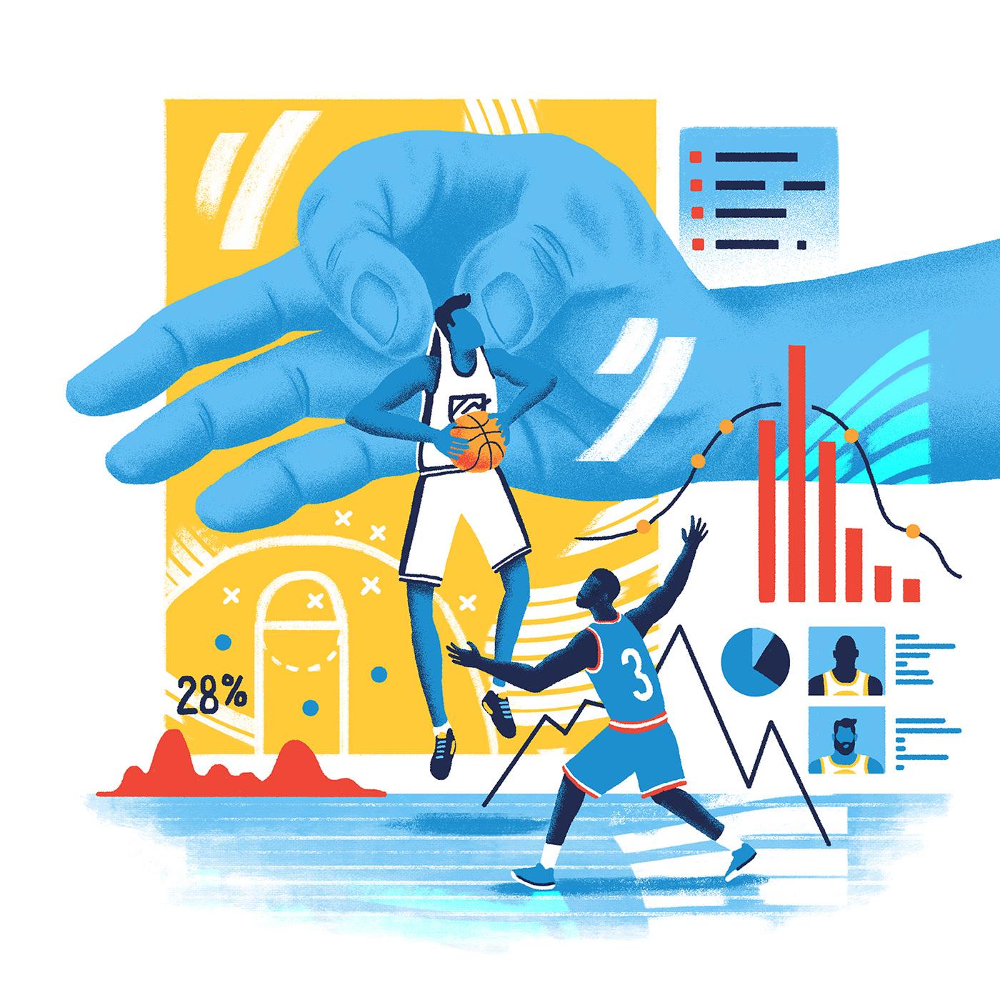 Image may contain: cartoon, ice skating and illustration