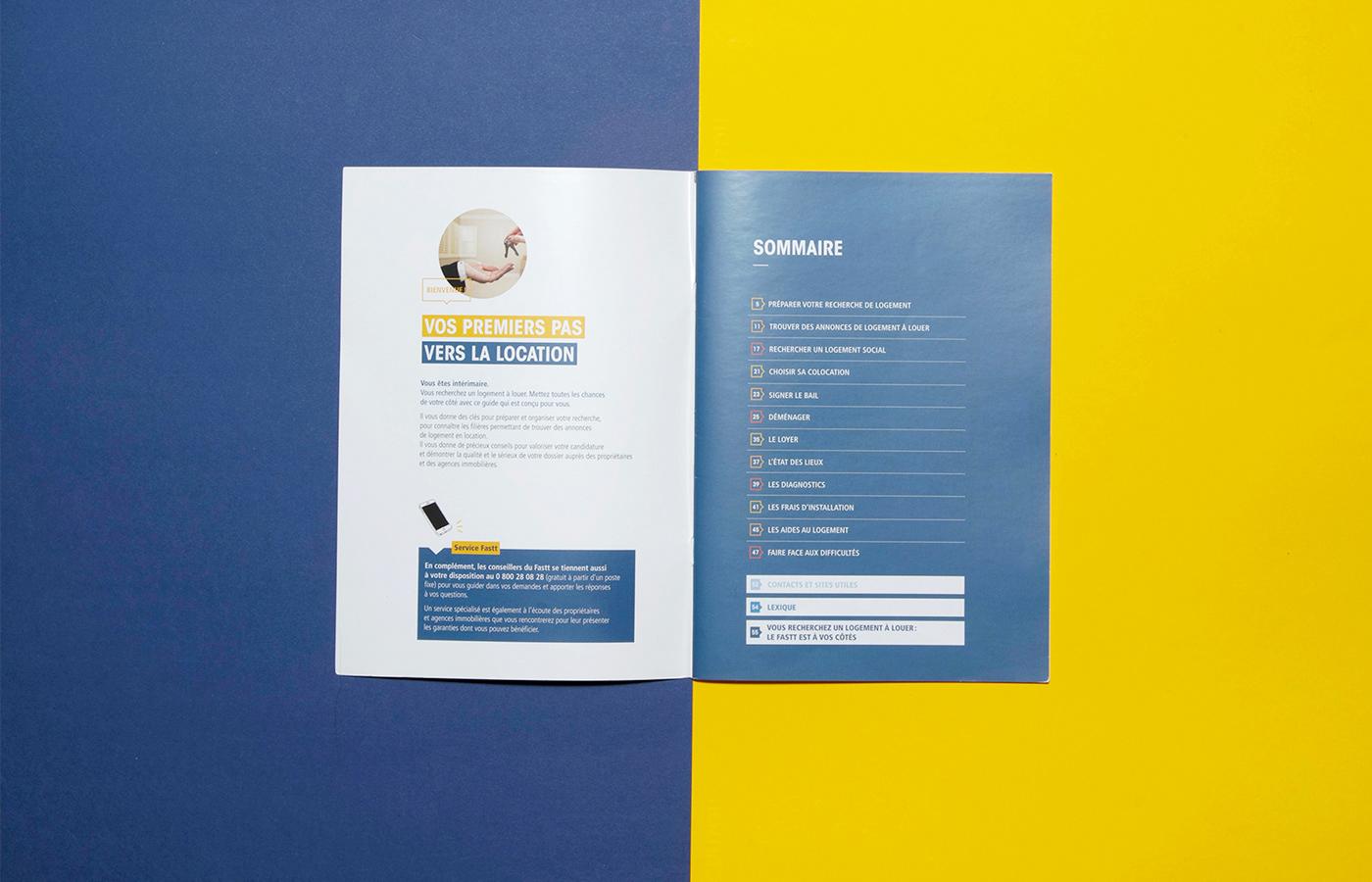 brochure edition graphic design  graphisme institutionnel Layout mise en page papier print