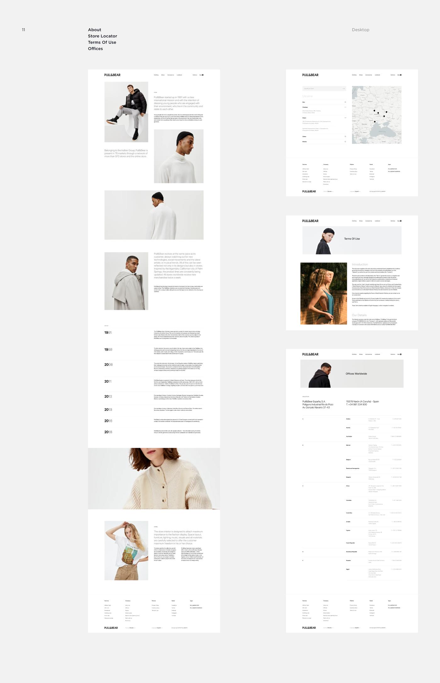 Adobe XD Figma Adobe Photoshop Fashion  store Ecommerce online store UI/UX Web Design  Website
