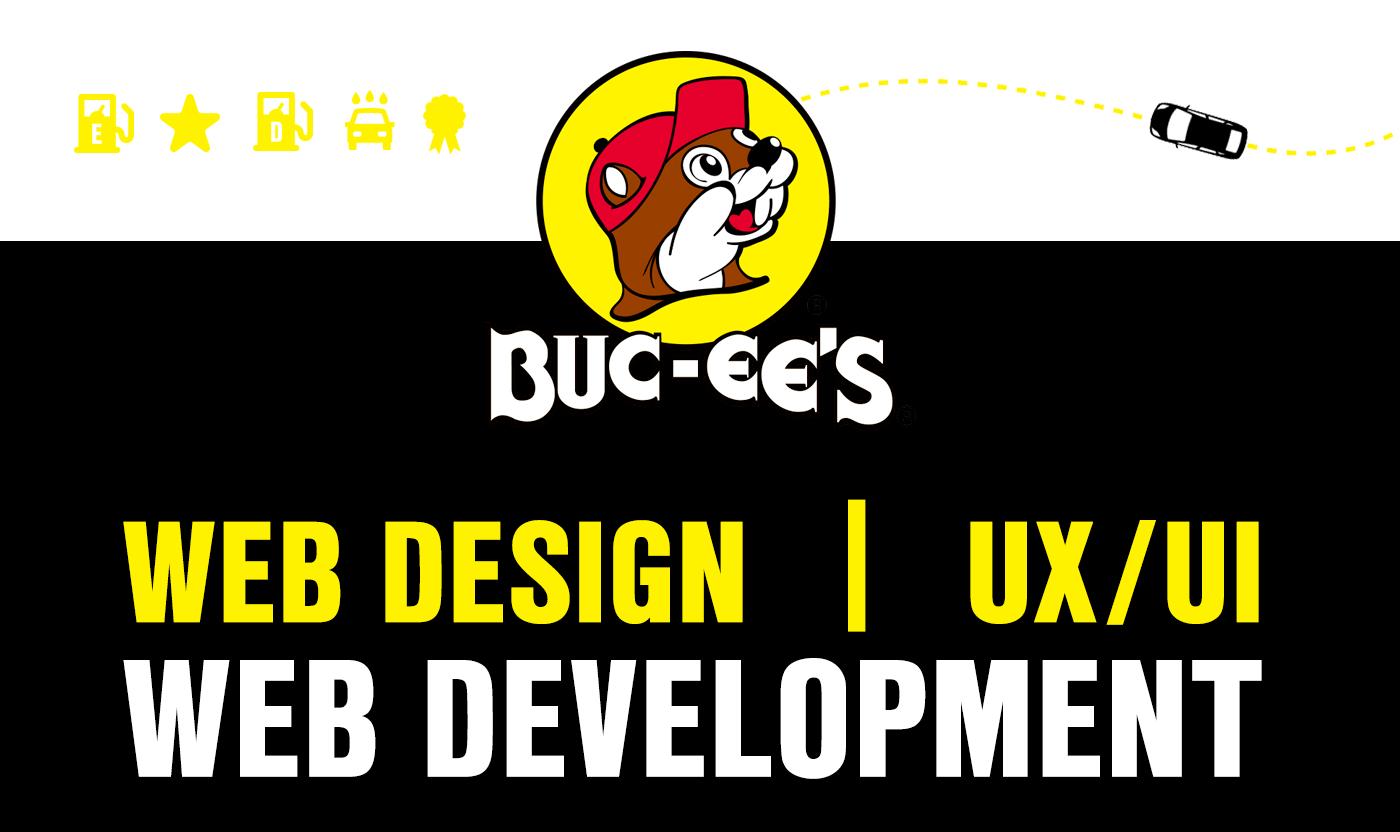 Buc-ee's Website Design website development