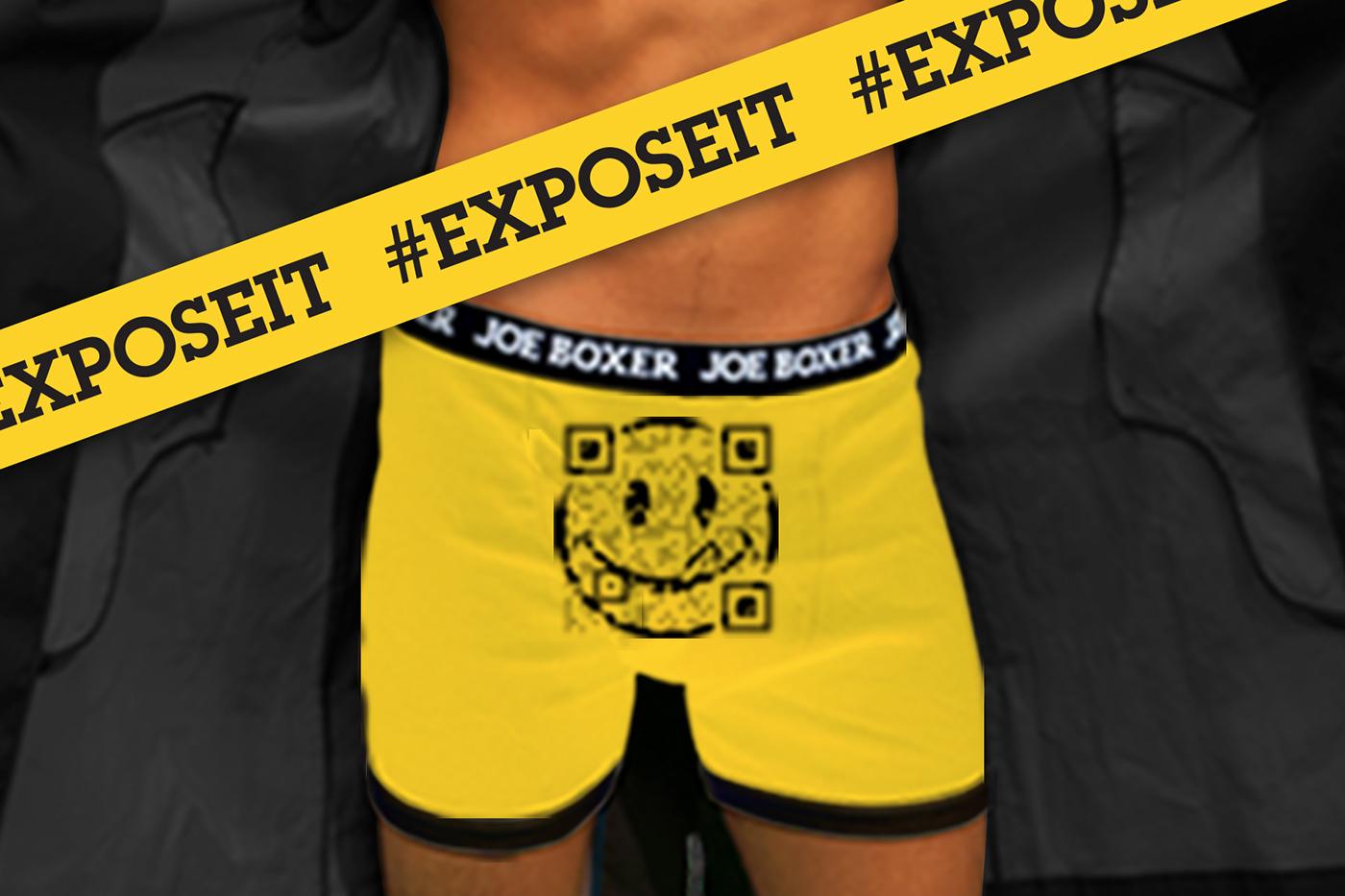 Joe Boxer #EXPOSEIT on Behance