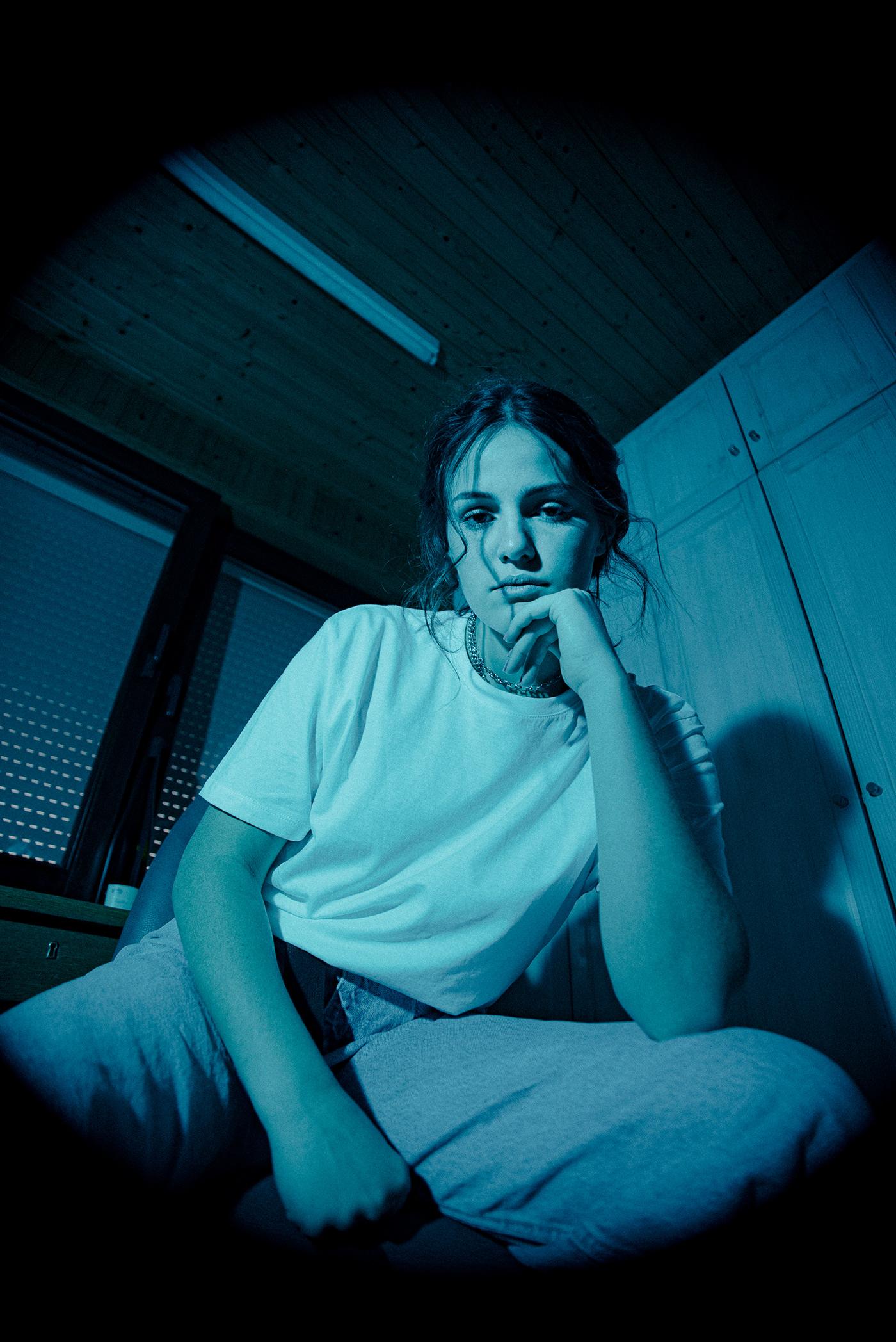 blue,creative,editorial,fisheye,linn,model,shirt,tshirt,White